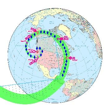 Где На Глобусе Западное Полушарие Где Восточное Полушарие