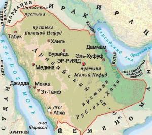 сауд.арав.-карта es2133141